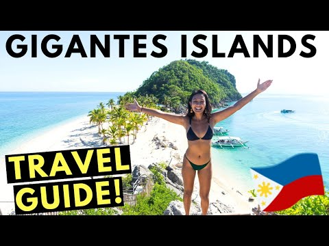 BEAUTIFUL GIGANTES ISLANDS PHILIPPINES! (Travel guide & Budget)