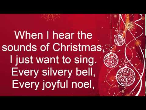 When I Hear The Sounds of Christmas Lyrics - By Andy Back and Brian Fisher