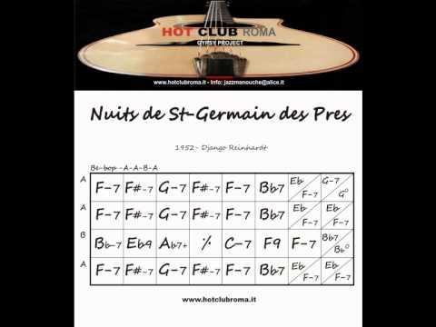 Django Reinhardt - Grilles/Chords - NUITS DE ST-GERMAIN DES PRES