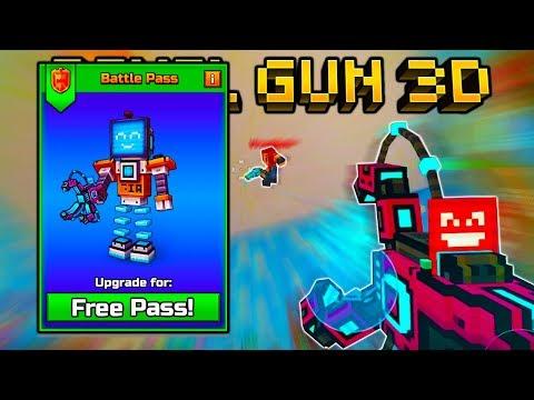 Pixel Gun 3D | F2P I Unlocked The Battle Pass For FREE!