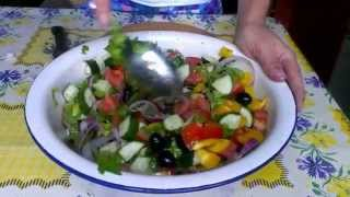 Просто и вкусно, готовим дома греческий салат