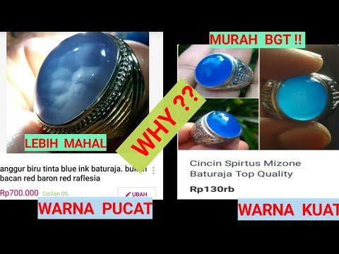 Wajib tonton penampakan serat kura batu akik biru baturaja yg tidak ada di batu spirtus warna Dyed