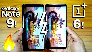 Galaxy NOTE 9 vs OnePlus 6 - SPEED TEST & RAM Management! (END SURPRISE🔥)