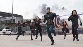Команда Железного человека против команды Капитана америки - первый мститель (2016)