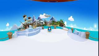 360° Club Penguin Island Image