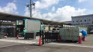 解体工事が始まる南海和歌山市駅ビル 2017.05.26 thumbnail