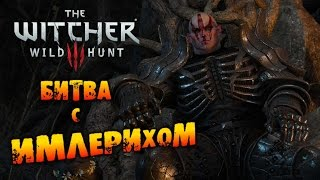 The Witcher 3: Wild Hunt - Геральт битва с Имлерихом!
