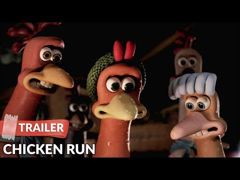 Chicken Run 2000  HD  Mel Gibson  Julia Sawalha