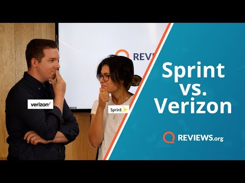 Verizon vs. Sprint - Which Cell Phone Plan Do You Need?
