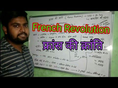 French Revolution (फ्रांस की क्रांति) in हिंदी। NCERT based.