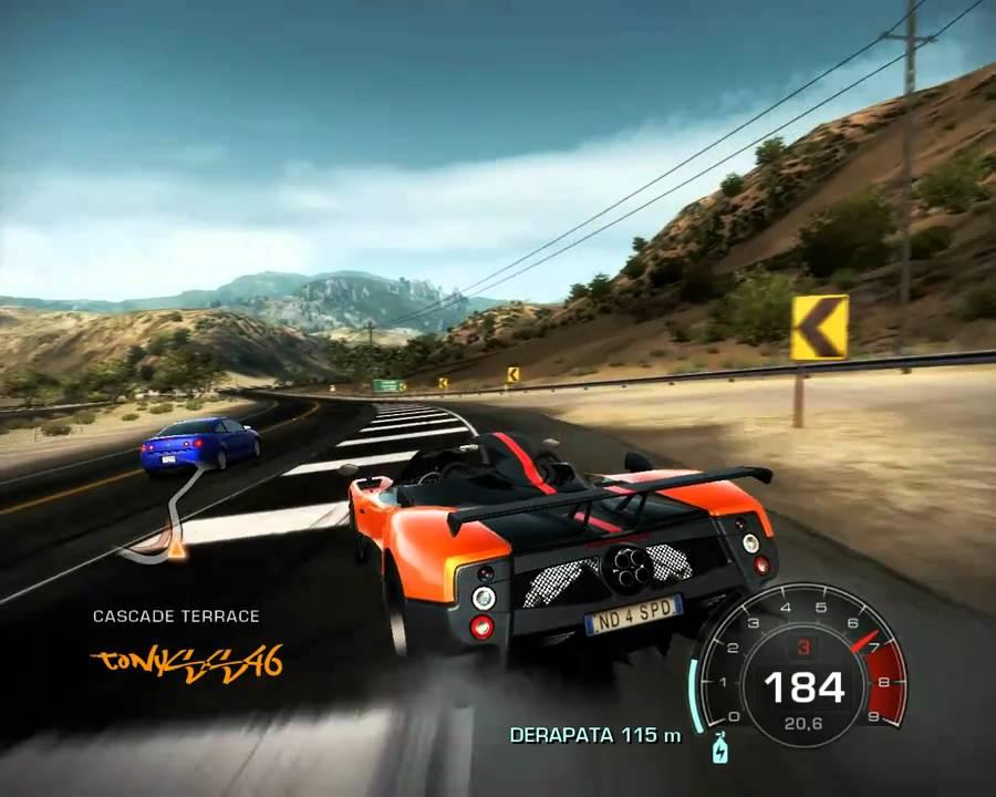 Pagani Zonda Cinque Roadster Nfs Hot Pursuit 2010 Hd Youtube