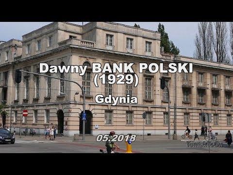 Gdynia - Dawny BANK POLSKI z 1929r.