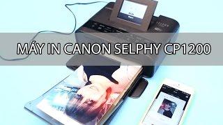 Máy in ảnh Canon cầm tay mini Selphy CP1200 giá rẻ