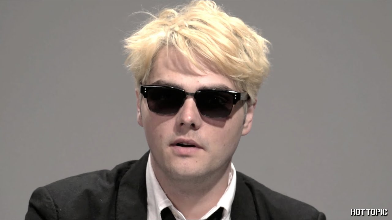 interview gerard way youtube