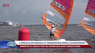 4 Israelis Win Medals At Windsurfing World Championship - Your News From Israel