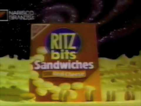 Download Ritz Bits Sandwiches with Cheese commercial - 1990