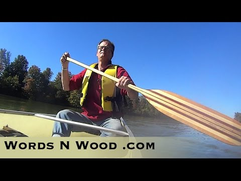 How To Make a BEAUTIFUL Custom Canoe Paddle (WnW #72)