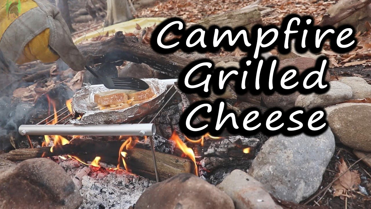 Bushcraft Campfire GRILLED CHEESE