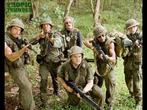 Run Through the Jungle - Tropic Thunder OST - YouTube