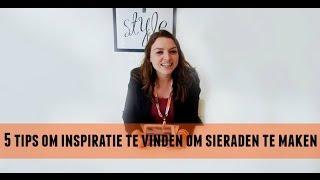 5 Tips Om Inspiratie Te Vinden Voor Sieraden