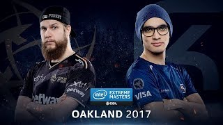 CS:GO IEM Oakland 2017 NiP vs SK | Semi-Finals |Map:Inferno