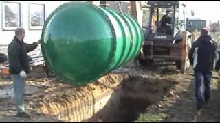 Montaż szamba ekologicznego firmy NARO