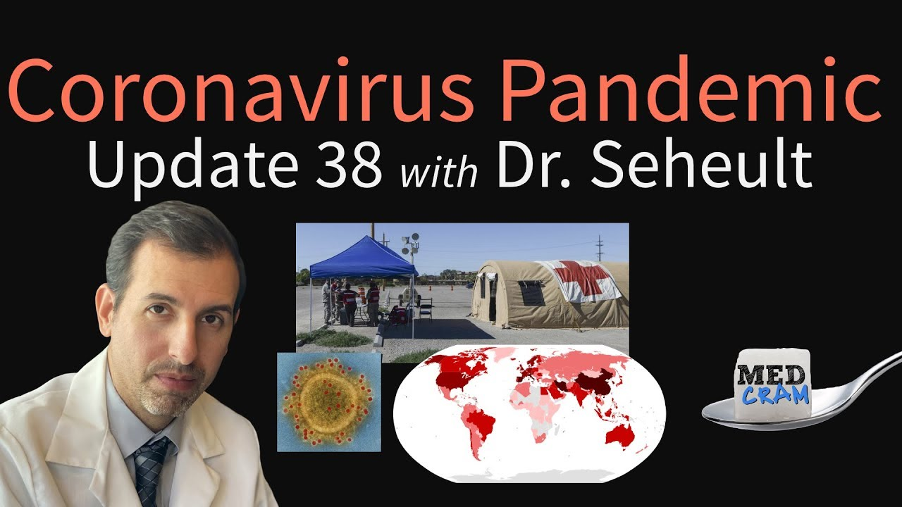 Coronavirus Pandemic Update 38: How Hospitals & Clinics Can Prepare for COVID-19, Global Cases S