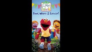 Elmo's World: Food, Water & Exercise (2005 VHS)