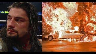 friday wwe match 2019,Roman Reigns And Rendy,Braun Strowman,WWWE Raw