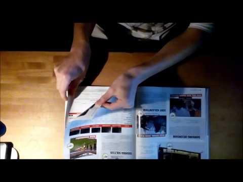 (ASMR) - Page turning - Magazines de jeux vidéo // video games magazines
