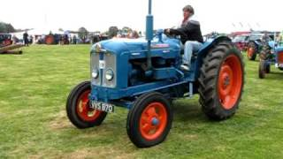 Ford and Fordson tractors at the Fife Agricultural Vintage Tractor and Machinery club rally 2009