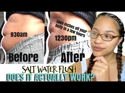 WHAT NOBODY TELLS YOU ABOUT THE SALT WATER FLUSH