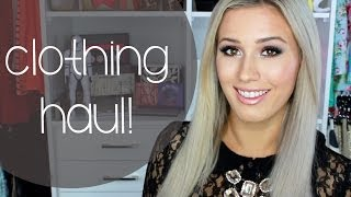 Clothing Haul