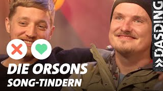 Song-Tindern: Kaas und Maeckes - Die Orsons feiern Geburtstag | DASDING Interview