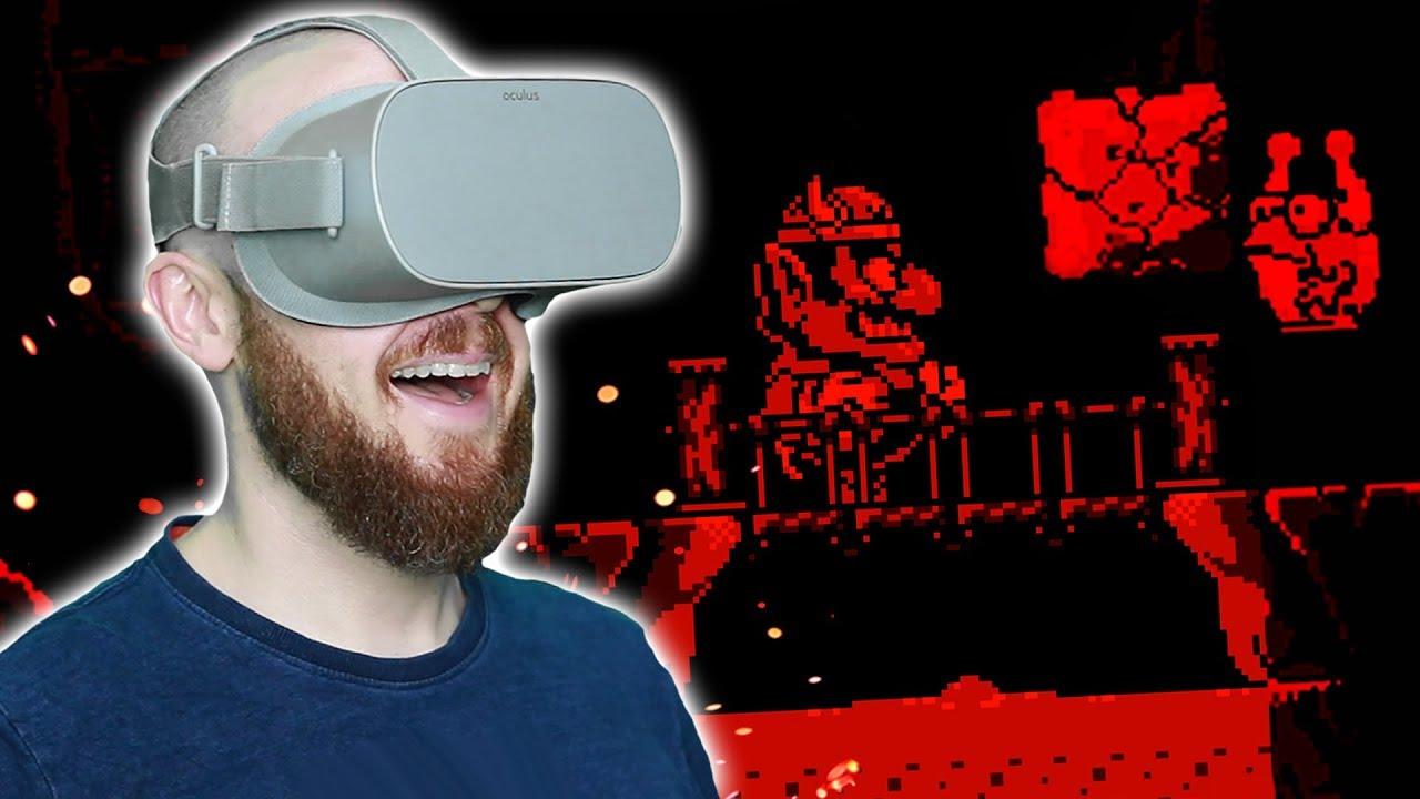 VIRTUAL BOY ON OCULUS GO!! VirtualBoyGo Emulator Oculus Go Gameplay