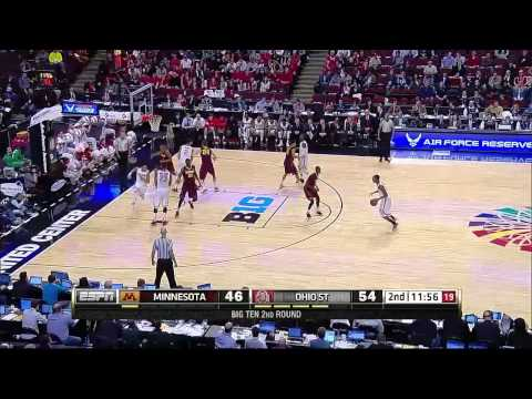 Minnesota vs  Ohio State   2015 Big Ten Men