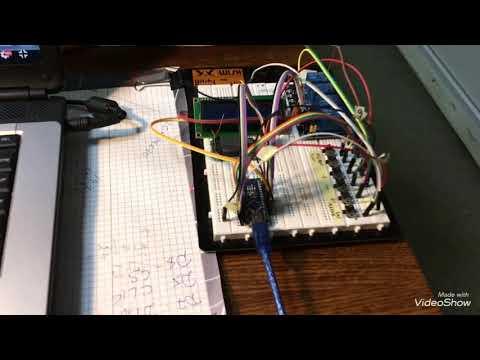Таймер недельный четырёх канальный на Arduino Nano