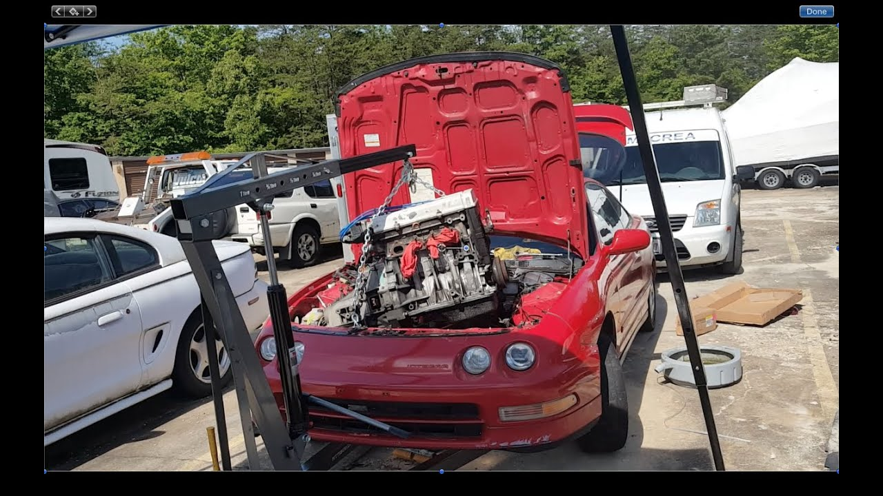 96 acura integra swap removal youtube rh youtube com Ford Wiring Harness Kits Automotive Wiring Harness