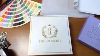 видео изготовление коробок с логотипом