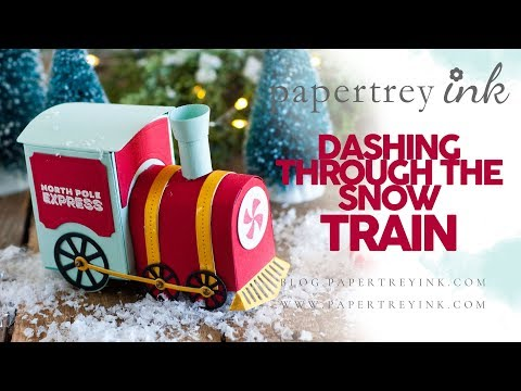 Papertrey Ink Dashing Through The Snow Train