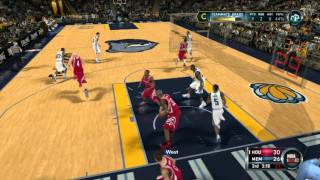 NBA 2k12 GamePlay On PC Maxed out Settings [1080p]