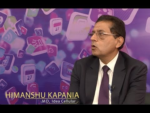 Idea Cellular MD Himanshu Kapania on 5G, IoT