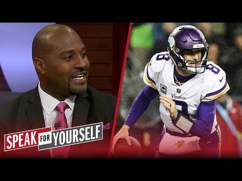 Marcellus Wiley believes Kirk Cousins is 'not a liability' to the Vikings | NFL | SPEAK FOR YOURSELF