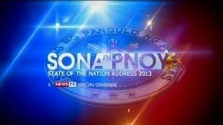 GMA News TV live coverage: SONA 2013: Part 2