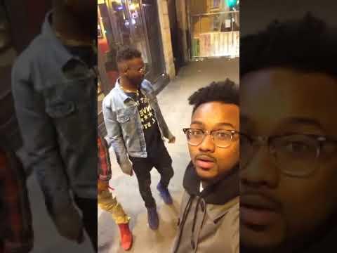 DIP Doundou Guiss & Elzo Jamdong Dans Les Rues De Paris
