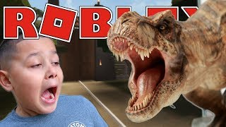 JURASSIC PARK THE RIDE | Roblox Adventures - Roblox Gameplay
