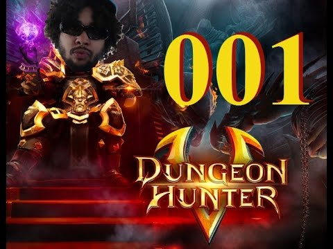 (60fps) Dungeon Hunter 5 - Let's Play 001 / Walkthrough / Playthrough / Gameplay