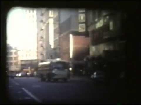 San Francisco MUNI (PCC streetcars and trolleybuses) & BART-1974