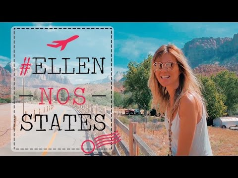 Ellen Jabour Descobrindo o Mundo - Episódio 9: Las Vegas/Zion Park