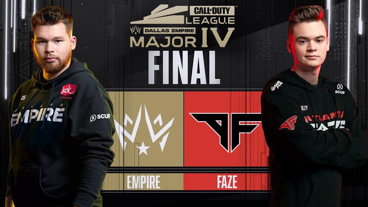 Major Final |  @Dallas Empire vs @Atlanta FaZe  | Stage IV Major Tournament | Day 4